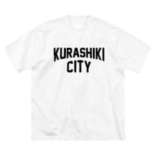 kurashiki city 倉敷ファッション アイテム Big silhouette T-shirts