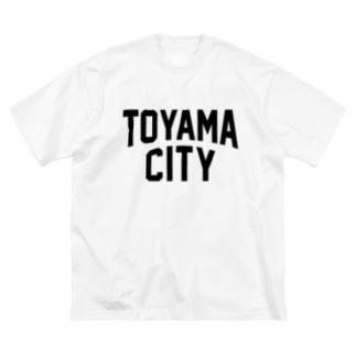toyama city 富山ファッション アイテム Big silhouette T-shirts