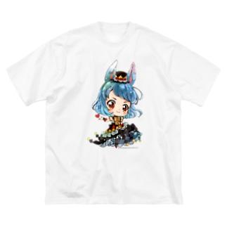 ダイアmini Big silhouette T-shirts