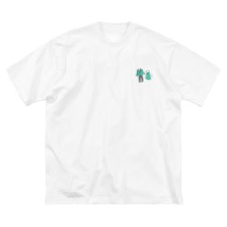 好きな服 Big silhouette T-shirts