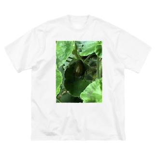 コガネムシーはー金持ちだー Big silhouette T-shirts
