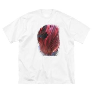 akagami no aitsu Big silhouette T-shirts