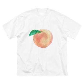 赤ちゃんのほっぺ Big silhouette T-shirts