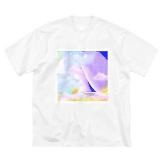 つばきさんのおしり2 Big silhouette T-shirts