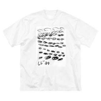 しじみ Big silhouette T-shirts