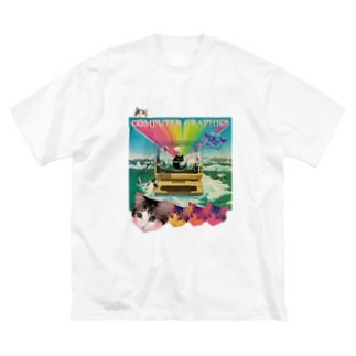 computer graphics Big silhouette T-shirts