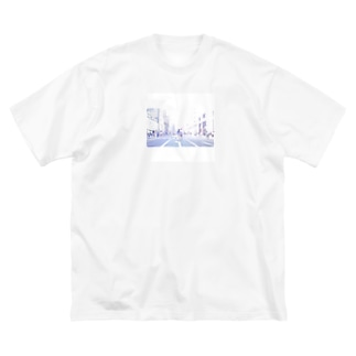 恋人たちの天国 Big silhouette T-shirts