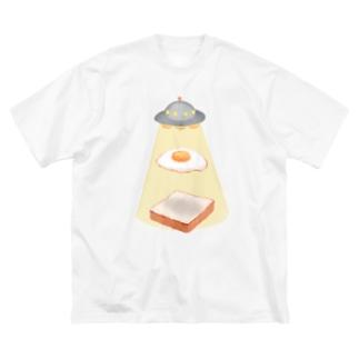 極悪非道なUFO Big Silhouette T-Shirt