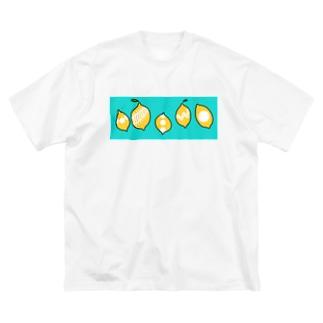 ナツレモーン ♪ Big silhouette T-shirts