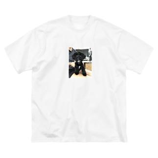 むぅTシャツ Big silhouette T-shirts