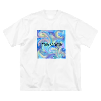 chill summer Big silhouette T-shirts
