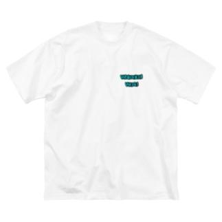 うぃむじかる Big silhouette T-shirts