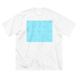 模様 Big silhouette T-shirts