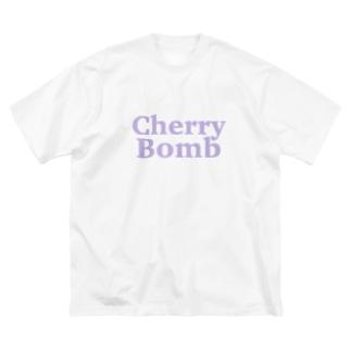 Cherry Bomb Big silhouette T-shirts