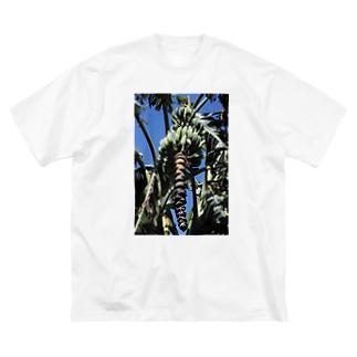BANANA Big silhouette T-shirts