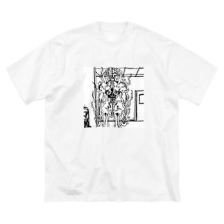 fireman Big silhouette T-shirts