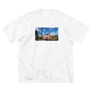 ハーレム Big silhouette T-shirts