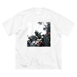 艶。【前面 ver.】 Big silhouette T-shirts