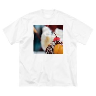 彩。【前面 ver.】 Big silhouette T-shirts