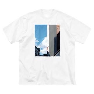 茫。【前面 ver.】 Big silhouette T-shirts
