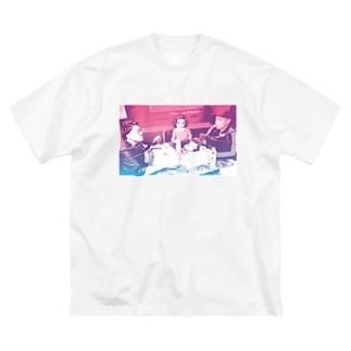 おしゃスタTシャツ Big silhouette T-shirts