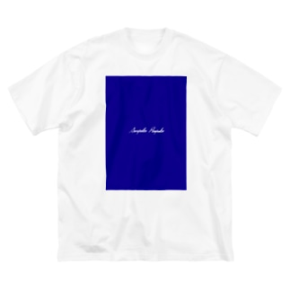 SHOP名 Big silhouette T-shirts