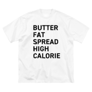 BUTTER Big silhouette T-shirts