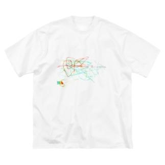 2020夏 〜ロケット〜 Big silhouette T-shirts