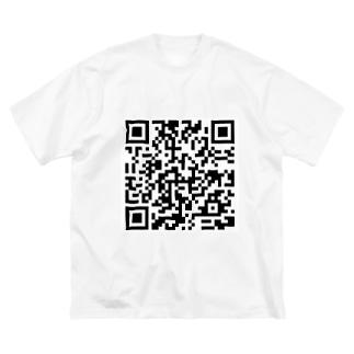 秘密のQR Big silhouette T-shirts