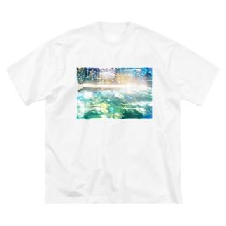 時間を動かして Big silhouette T-shirts
