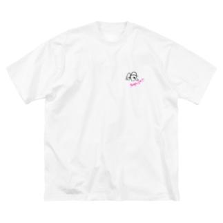 shiikaのEyes  1 Big silhouette T-shirts