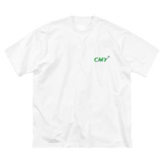 cmy Big silhouette T-shirts