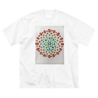 華火 Big Silhouette T-Shirt