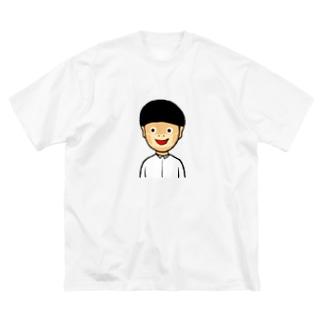 現代病 Big silhouette T-shirts