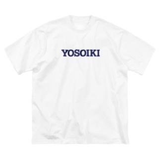 YOSOIKI Big silhouette T-shirts