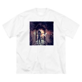 永遠 Big silhouette T-shirts