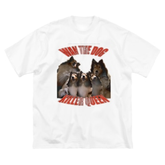 WAN KILER QUEEN Big silhouette T-shirts
