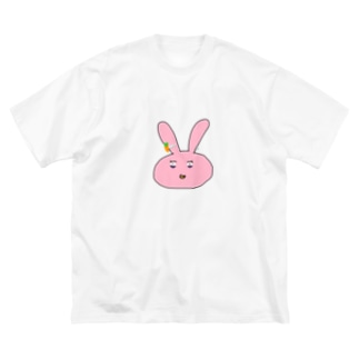 幼児退行ぅさぃさん Big silhouette T-shirts