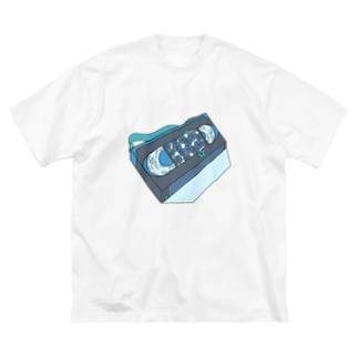 叡智 Big silhouette T-shirts