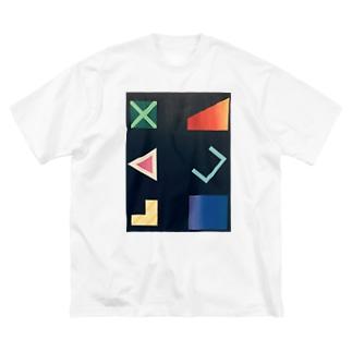 □ △ × Big silhouette T-shirts