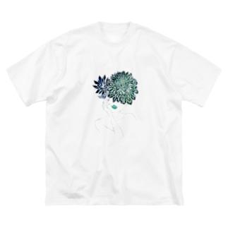 【 Dahlia Head 】part.2 Big silhouette T-shirts