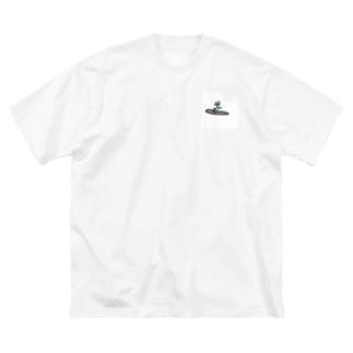 波乗りジョニーくん Big silhouette T-shirts