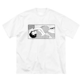ダラける Big silhouette T-shirts