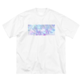Holographic CRYBABY Big silhouette T-shirts