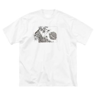87uta オリジナル 「ブレイカー」 ビッグシルエットTシャツ Big silhouette T-shirts