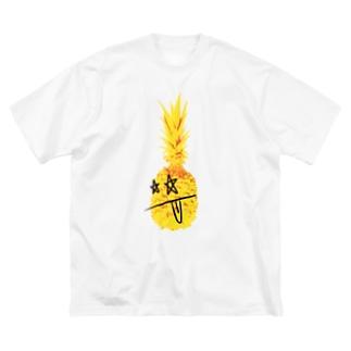 ロッキンパイナッポーOKINAWA Big silhouette T-shirts