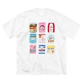 dog food Big silhouette T-shirts