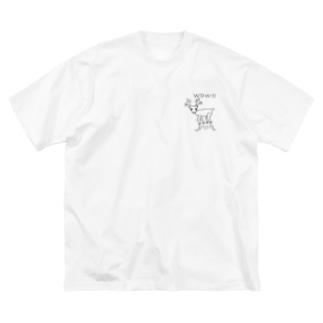 びっくりSHIKA Big T-shirts