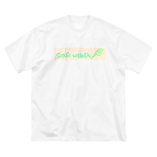 sonic sounds Big silhouette T-shirts