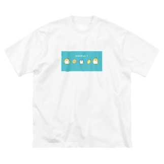 れもぺん Big silhouette T-shirts